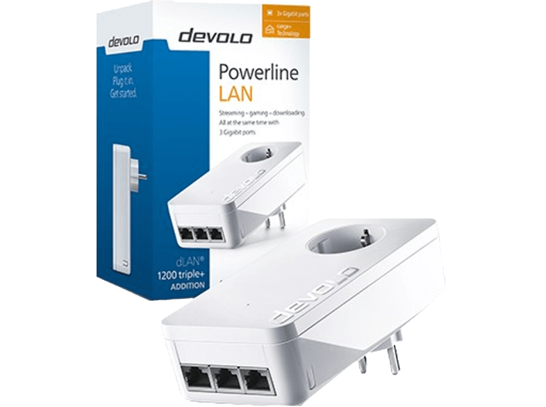 DEVOLO dLAN 1200 triple+ Powerline δικτυακά