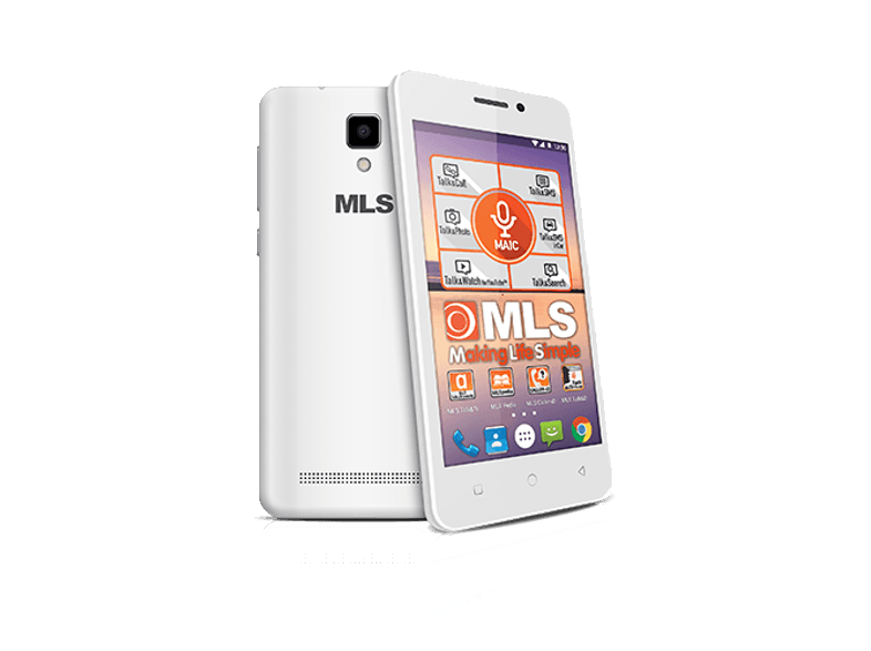 MLS TOP S 4G WHITE android smartphone