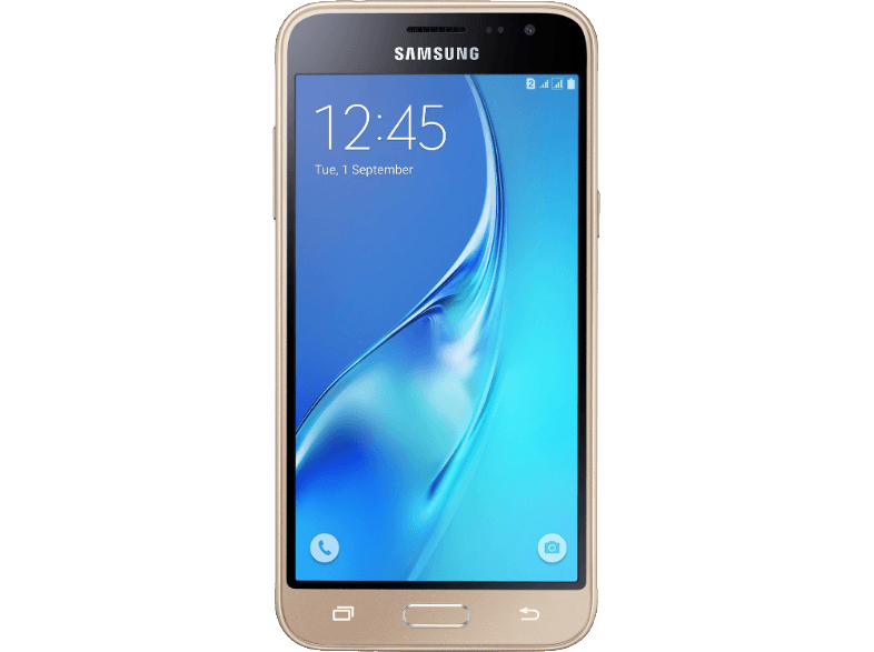 SAMSUNG Galaxy J3 Dual Sim (2016) Gold android smartphone