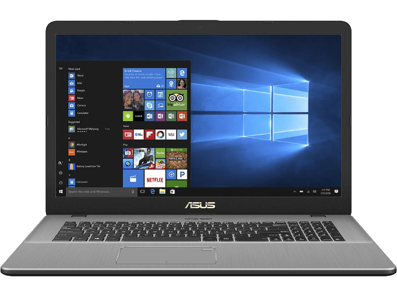 ASUS N705UN-GC071T Intel Core i7-8550U/ 8GB/ 128GB SSD / 1 TB HDD/ GeForce MX150 laptop