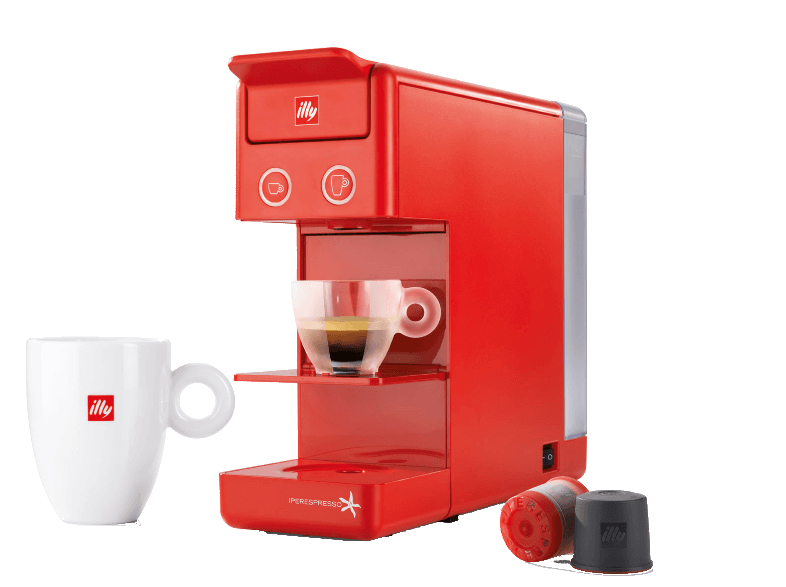 ILLY Υ 3.2 ILLY IPERESPRESSO Red illy