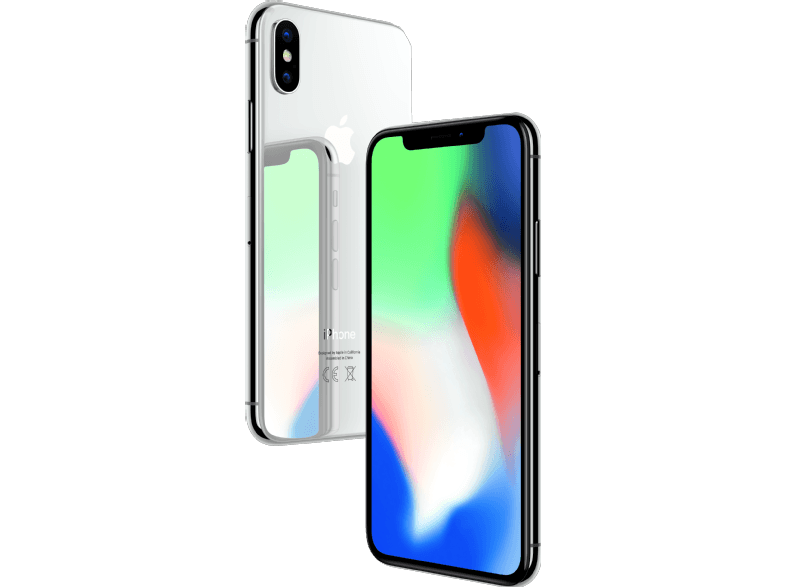 APPLE iPhone X 256GB Silver apple