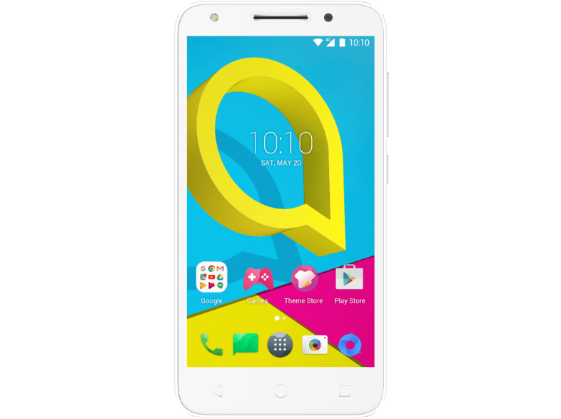 ALCATEL U5 4G - White android smartphone
