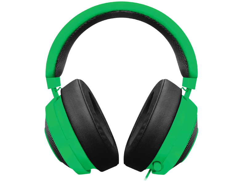RAZER Kraken PRO V2 oval - Green - Analog headset