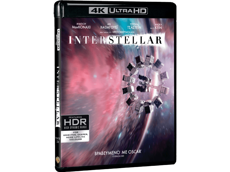 WARNER BROS Interstellar Box/Set 4κ blu ray ταινίες