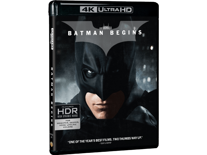 WARNER BROS Batman Begins Box/Set 4κ blu ray ταινίες