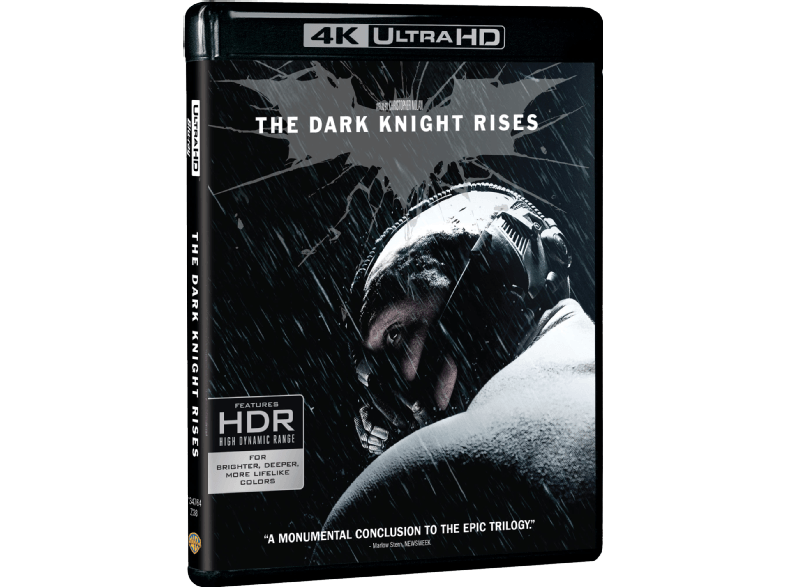WARNER BROS The Dark Night Rises Box/Set 4κ blu ray ταινίες