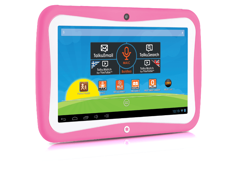 MLS Kido extra Pink android tablet