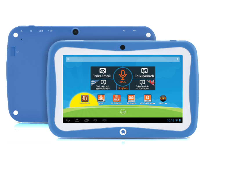 MLS Kido extra Blue android tablet