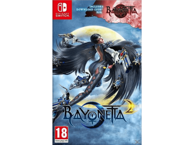 NINTENDO SW Bayonetta 2 + 1 (DDC) switch games