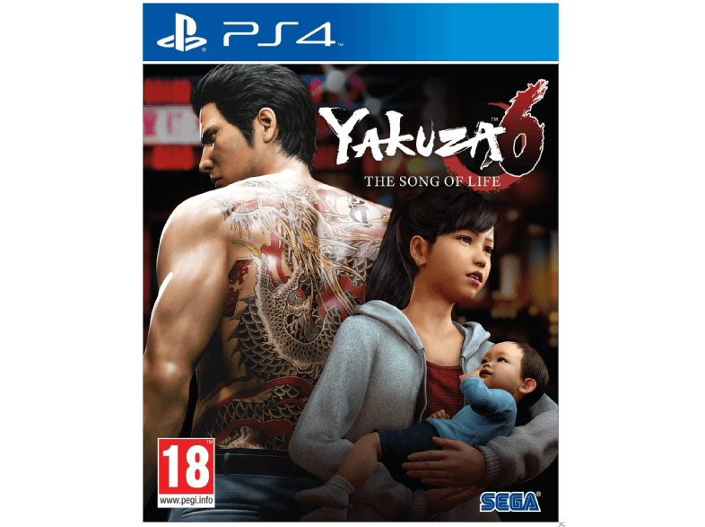 SEGA SW Yakuza 6 : The song of Life ps4 games