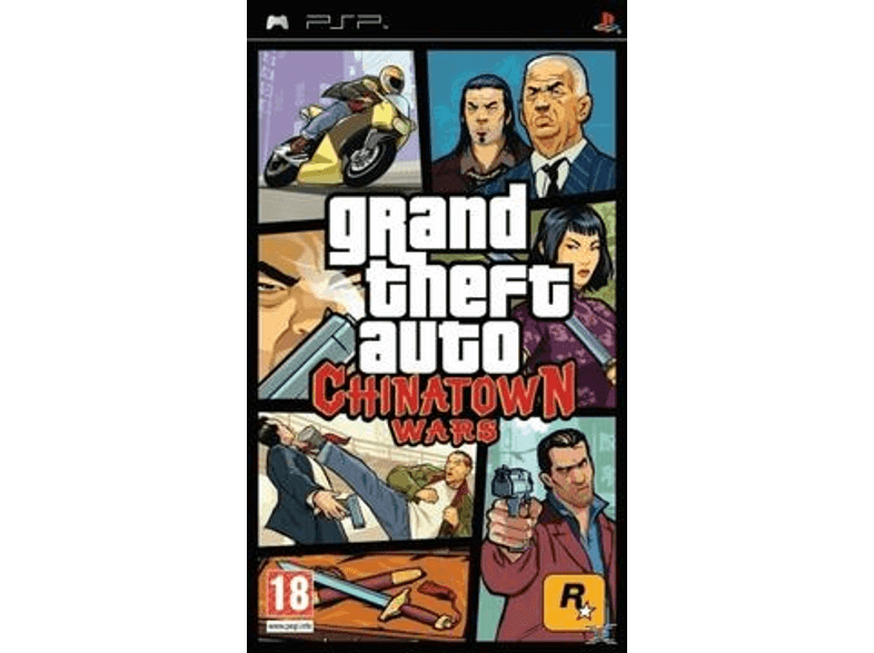 ENARXIS Grand Theft Auto Chinatown Wars games psp  ps vita