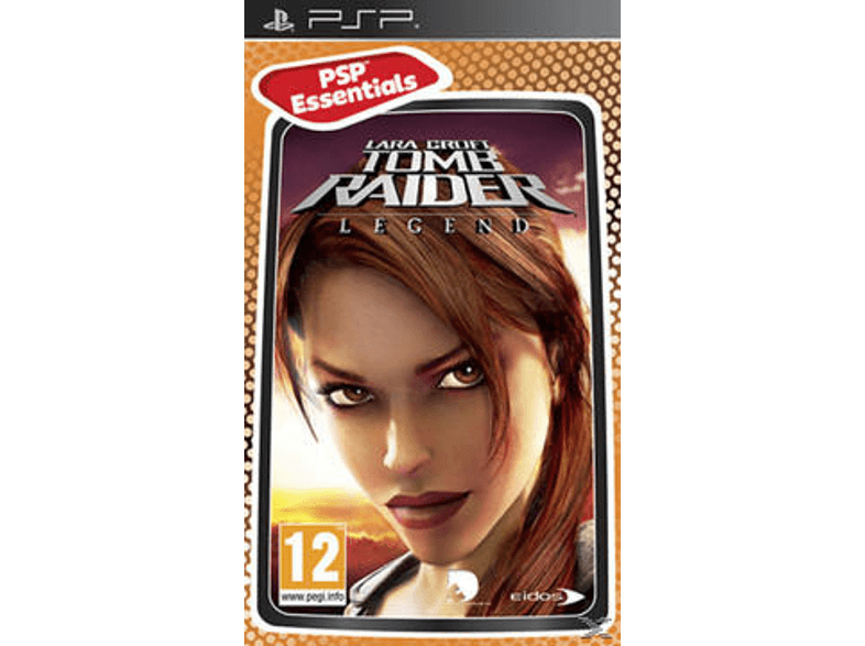 SQUARE ENIX Tomb Raider Legend Essentials Edition games psp  ps vita