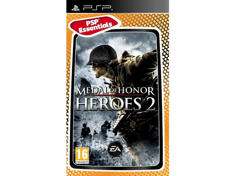 EA Medal of Honor Heroes 2 Essentials games psp  ps vita