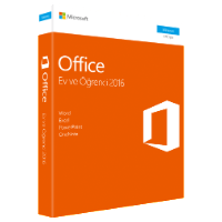 microsoft office ev ve öğrenci 2016