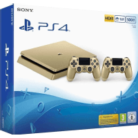 ps4 500gb d chassis gold gold ds4 eas oyun konsol