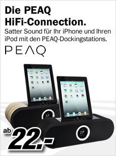 Peaq Docking-Station, Dock, Apple Docking-Station