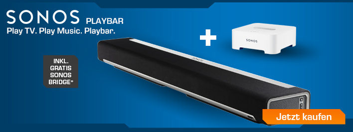 Sonos Playbar inklusive Sonos Bridge