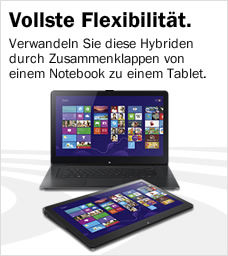 Convertibles 2in1 Hybriden Notebooks Ultrabooks Tablets günstig bei Media Markt
