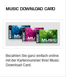 Music Download Card