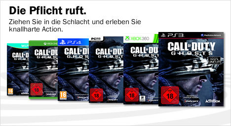 Call f Duty Ghosts kaufen bei Media Markt