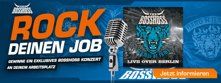 The Boss Hoss rocken Deinen Job