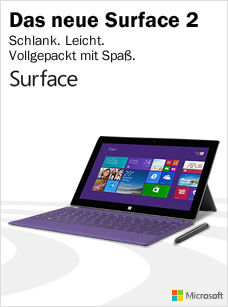 Microsoft Windows Surface 2 Pro Tablets bei Media Markt kaufen