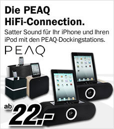 Peaq Docking-Station, Apple Dock, Docking-Station