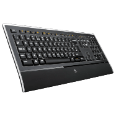 LOGITECH Illuminated Keyboard Deutsch 920-000913 Tastaturen