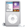 APPLE iPod classic G6 160 GB silber iPod