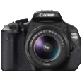 CANON EOS 600D 18-55 IS II DSLR-Kameras