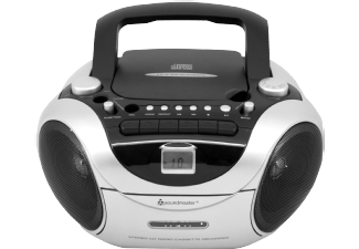 soundmaster scd5650si cd radiokassettenrecorder mit. Black Bedroom Furniture Sets. Home Design Ideas