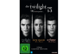 Die Twilight Saga 1-3  Fan Edition (3 DVDs) Fantasy DVD