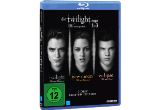 Die Twilight Saga 1-3 Fantasy Blu-ray