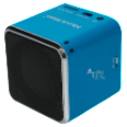 TECHNAXX Mini Musicman Soundstation blau Mobile Lautsprecher