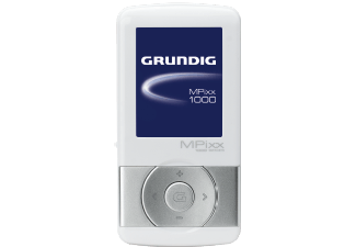 GRUNDIG MPixx 1200 White / Chrome