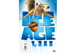 Ice Age 1-3 Trilogie DVD-Box Animation/Zeichentrick DVD