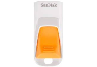 SANDISK Cruzer Edge 8 GB weiß/orange