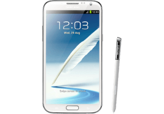 SAMSUNG Galaxy Note II N7100 16GB marble white
