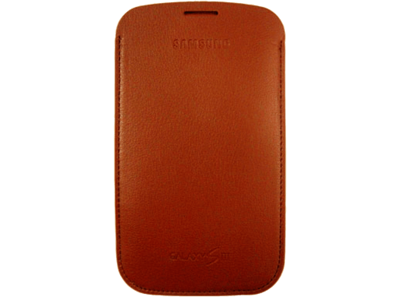 Samsung pouch galaxy s3 chocolate brown