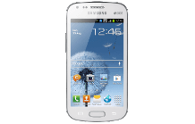 SAMSUNG Galaxy S Duos pure white