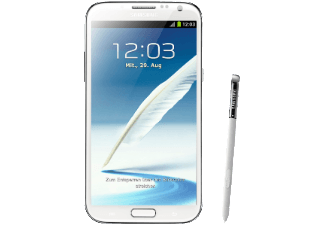 SAMSUNG Galaxy Note II marble-white GT-N 7100