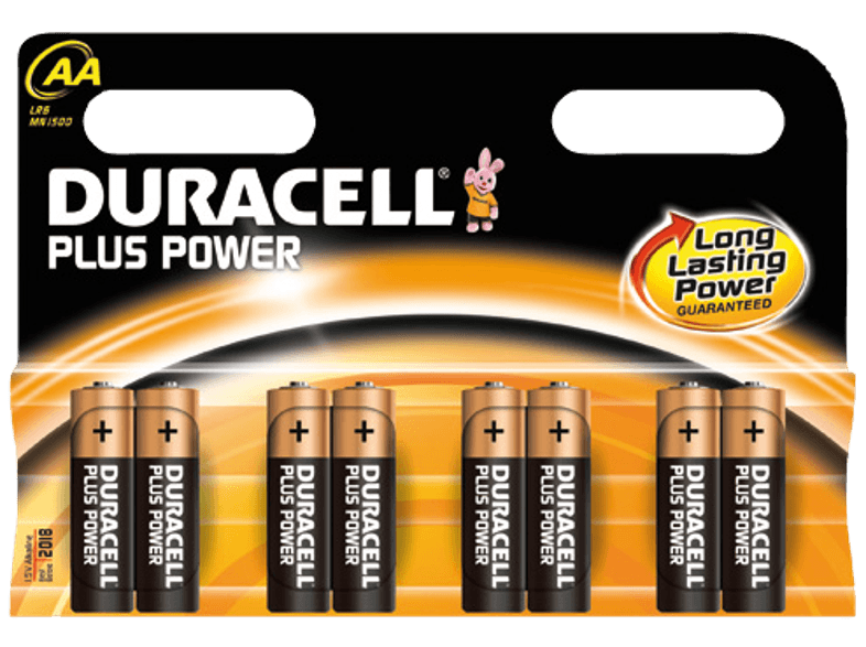 PLUS POWER AA 8 PACK