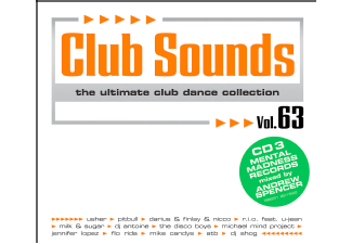 Various CLUB SOUNDS 63 Disco CD