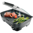 PHILIPS Avance Collection Tischgrill HD6360/20 schwarz Grillen