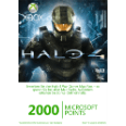 MICROSOFT (SOFTWARE) 2000 Microsoft Points Card - Halo 4 Xbox Live & Points