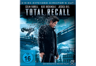 Total Recall (Extended Director's Cut) Science Fiction Blu-ray
