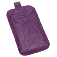 EMPORIA Etui washed Slide Purple Handy-Taschen