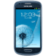 SAMSUNG GALAXY S3 MINI 8GB metallic blue Smartphones