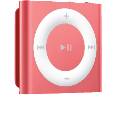 APPLE iPod shuffle 2GB pink MP3-Player